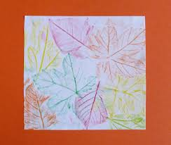 Empreintes crayons