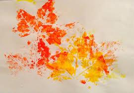 Empreintes feuilles d automne