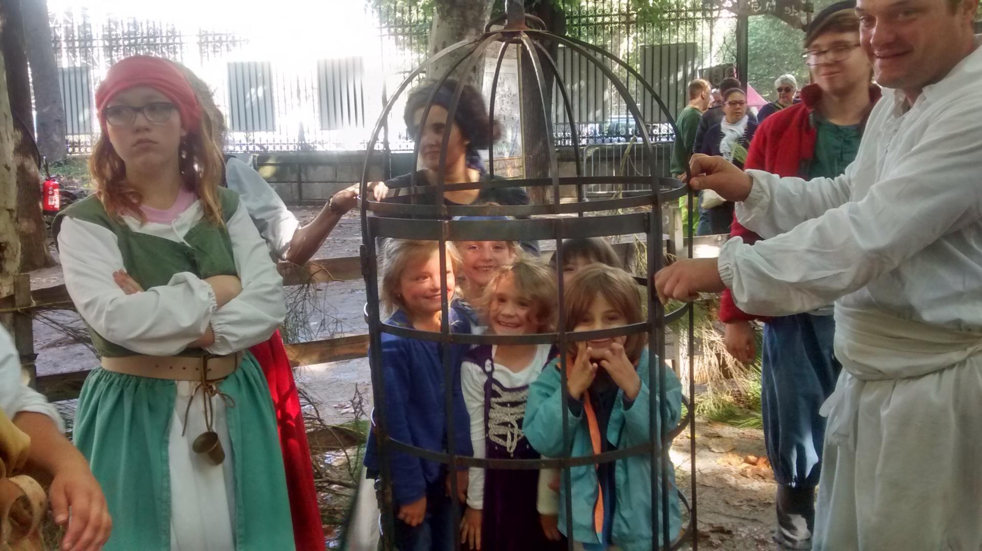 La prison pour les voleurs de poules ou d'oeufs...