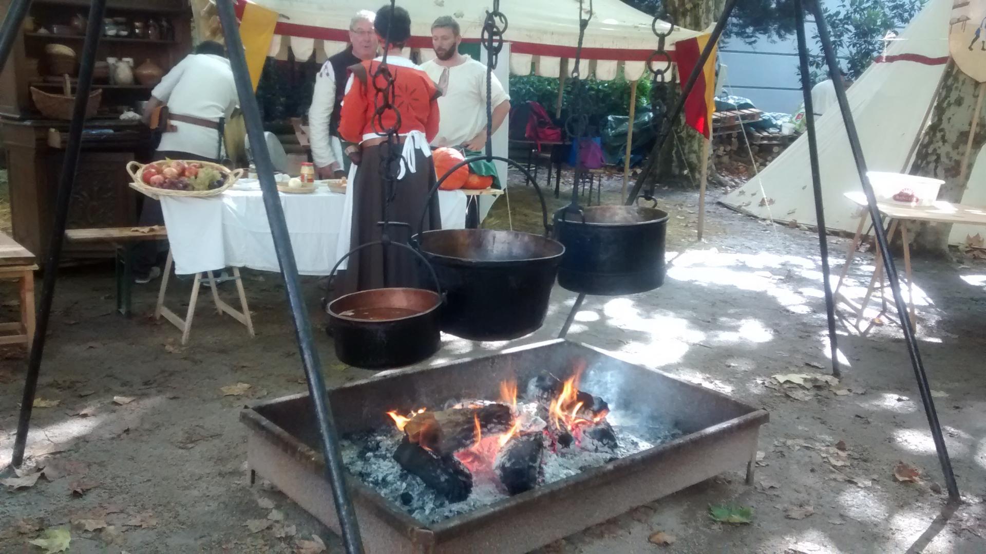 La cuisine du camp: Ah! la bonne soupe!